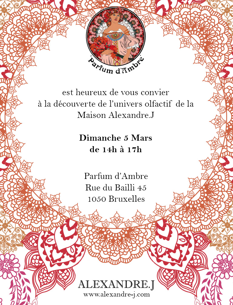 invitation Alexandre J.